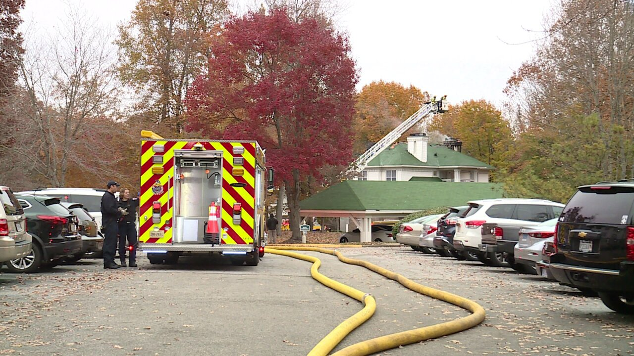 Fireplace ashes sparked Chesterfield apartment fire that killed 2 cats and adog