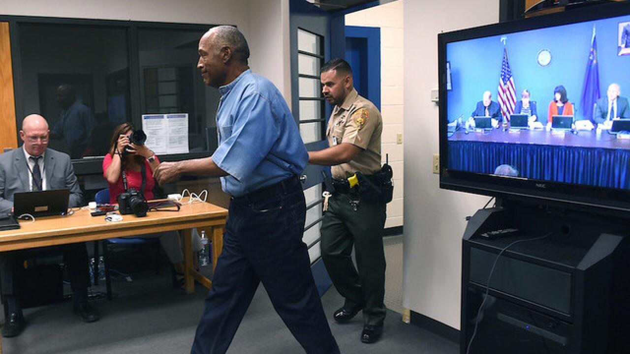 OJ Simpson faces prison parole board