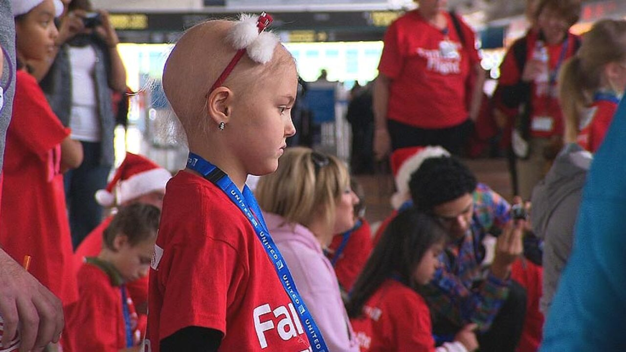 Fantasy Flight brings sick kids to the North Pole to see Santa