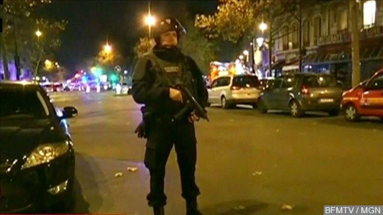 The Latest in Paris: US official Says No Threats Prior to