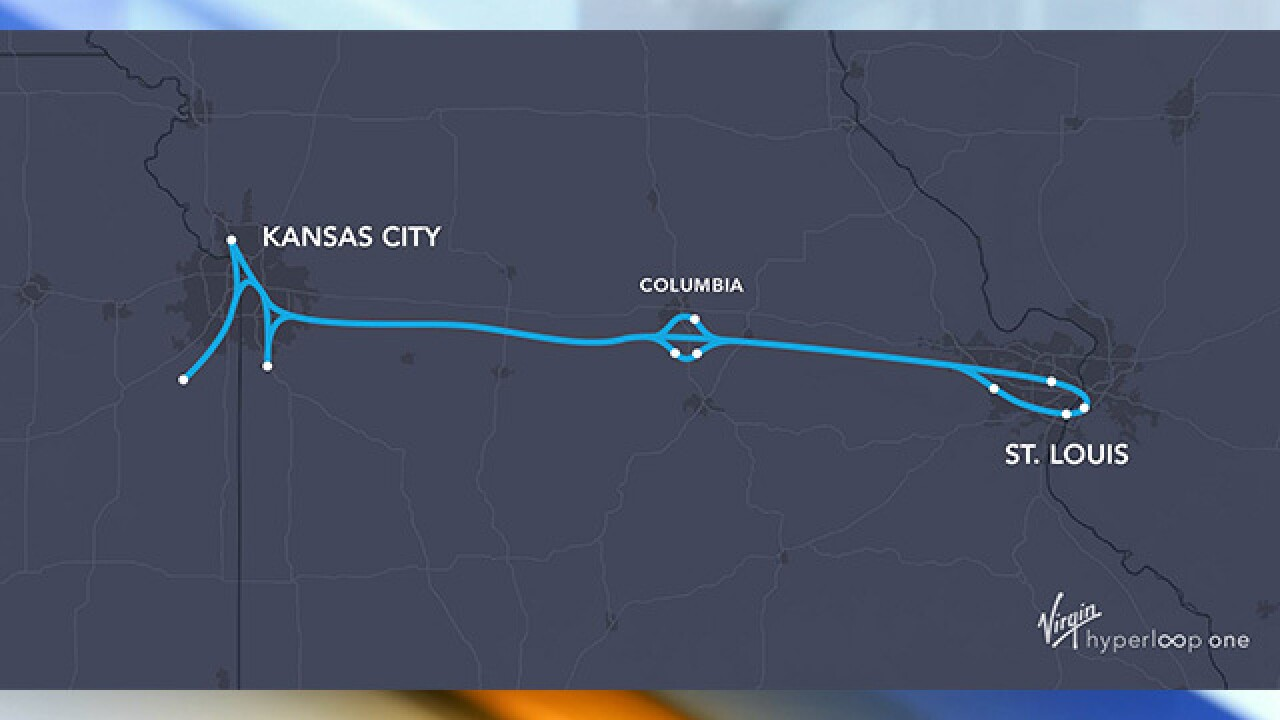 Missouri Hyperloop Coalition Announces Feasibility Study Along I 70