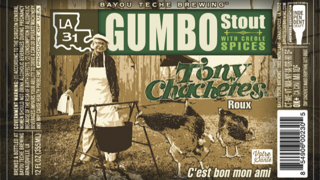 Gumbo Stout Label