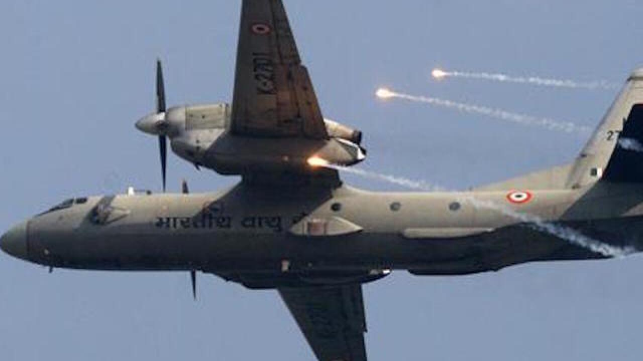 Indian air force plane with 29 on board missing, official says