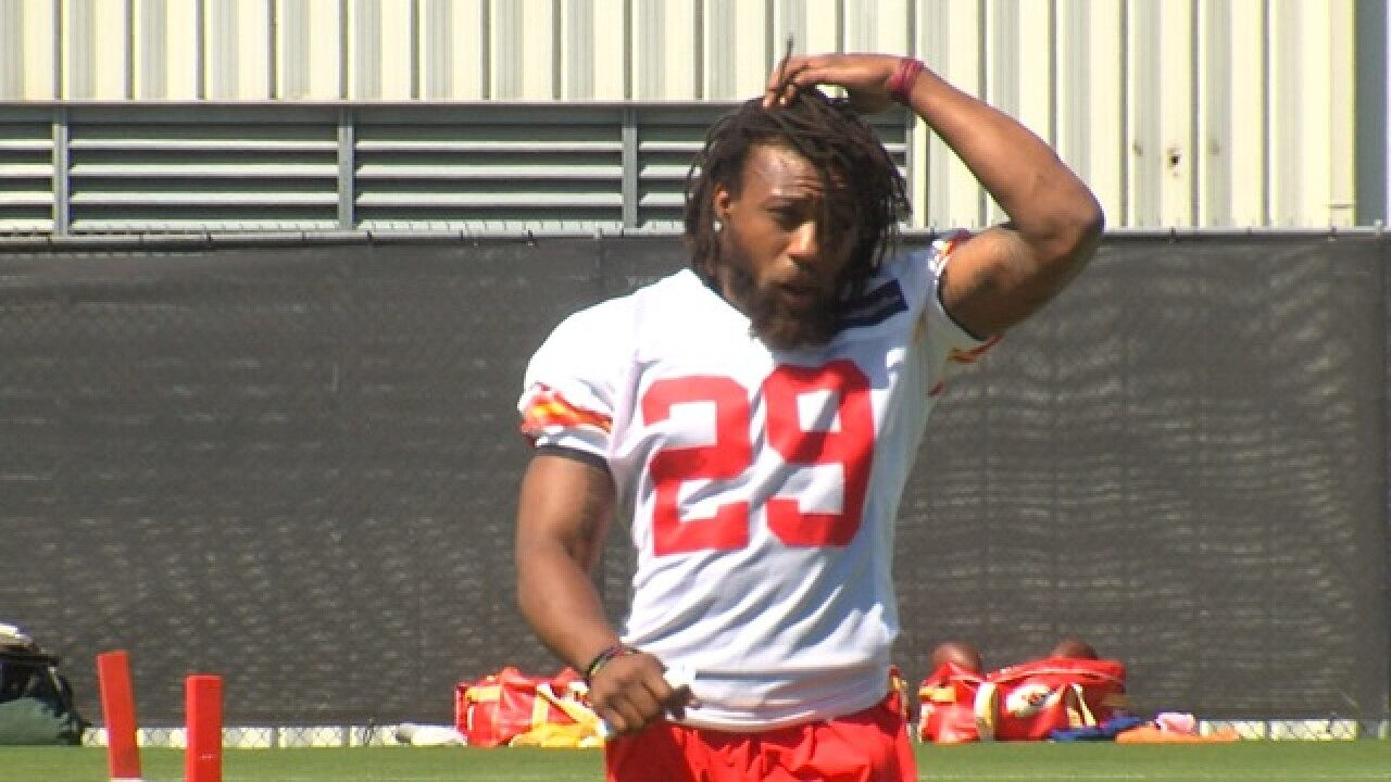Chiefs' Berry still out with sore heel