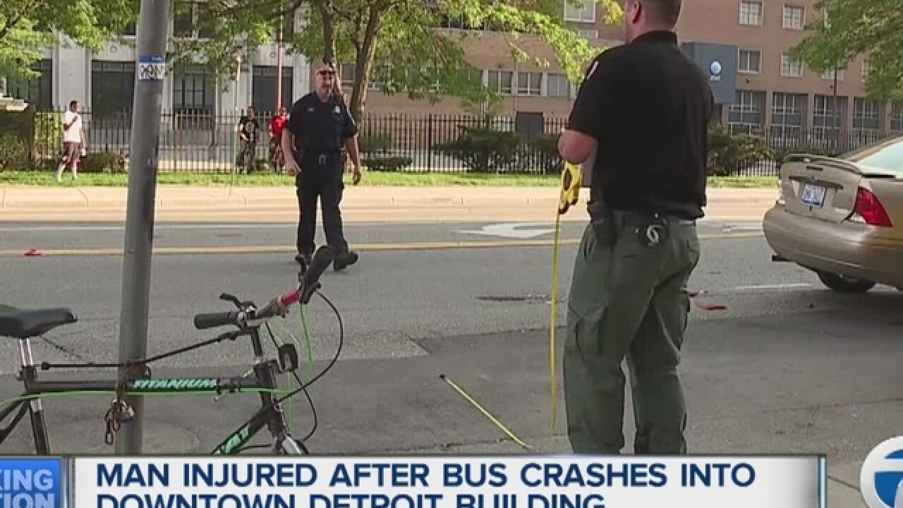 Nemo's Bar bus involved in Detroit accident