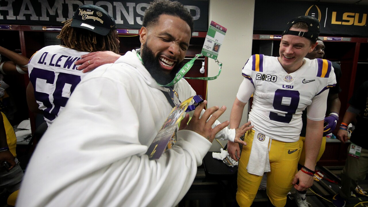 LSU probing Odell Beckham Jr.'s apparent on-field payments to Tigers players