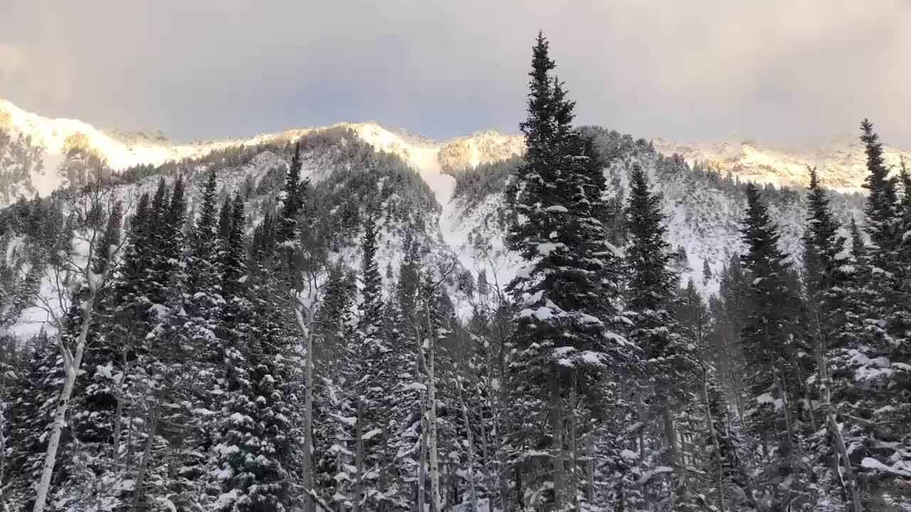 Watch UDOT crews set off controlled avalanche in Little CottonwoodCanyon
