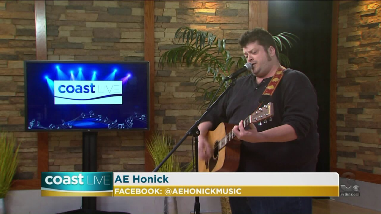 Music spotlight with AE Honick on CoastLive