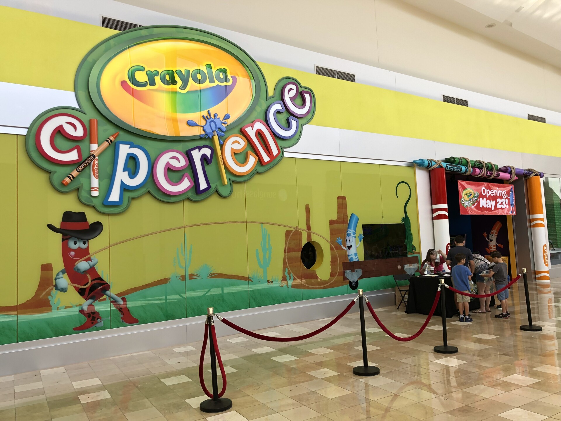 Sneak Peek A Look Inside The Crayola Experience At Chandler Fashion Center Mall