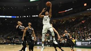 Giannis_Antetokounmpo_Detroit Pistons v Milwaukee Bucks - Game Two
