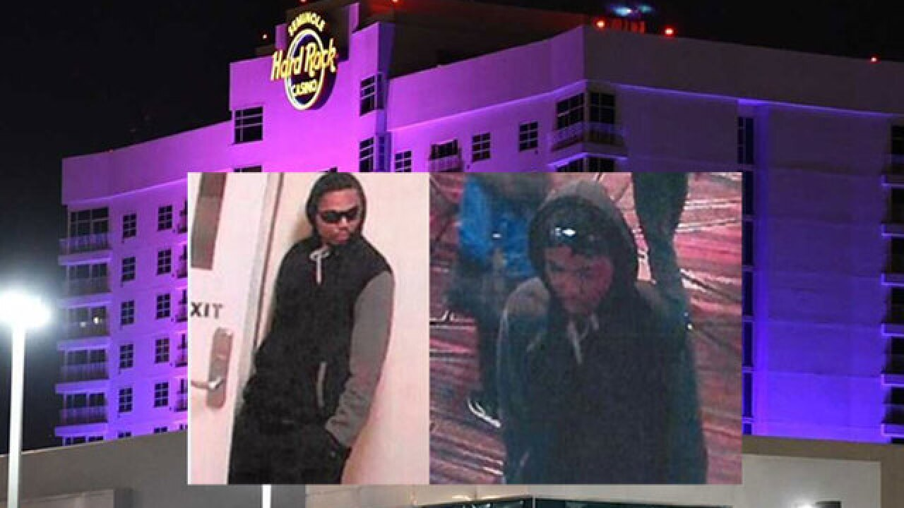 Man robs cashier in poker room at Seminole Hard Rock Hotel and Casino in Tampa