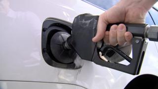 KNXV Gas Tax Pump Driving Road Generic