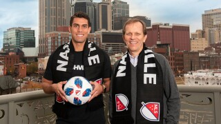 Nashville MLS signs Daniel Ríos, team's first player