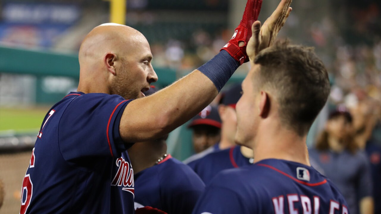 Chris Gimenez, Tyler Austin lead Twins over Tigers