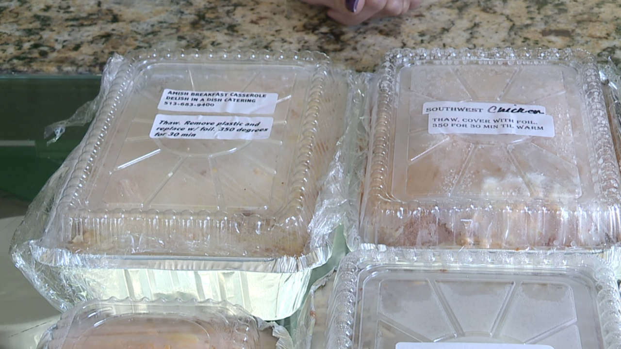 Delish in a Dish meals-to-go