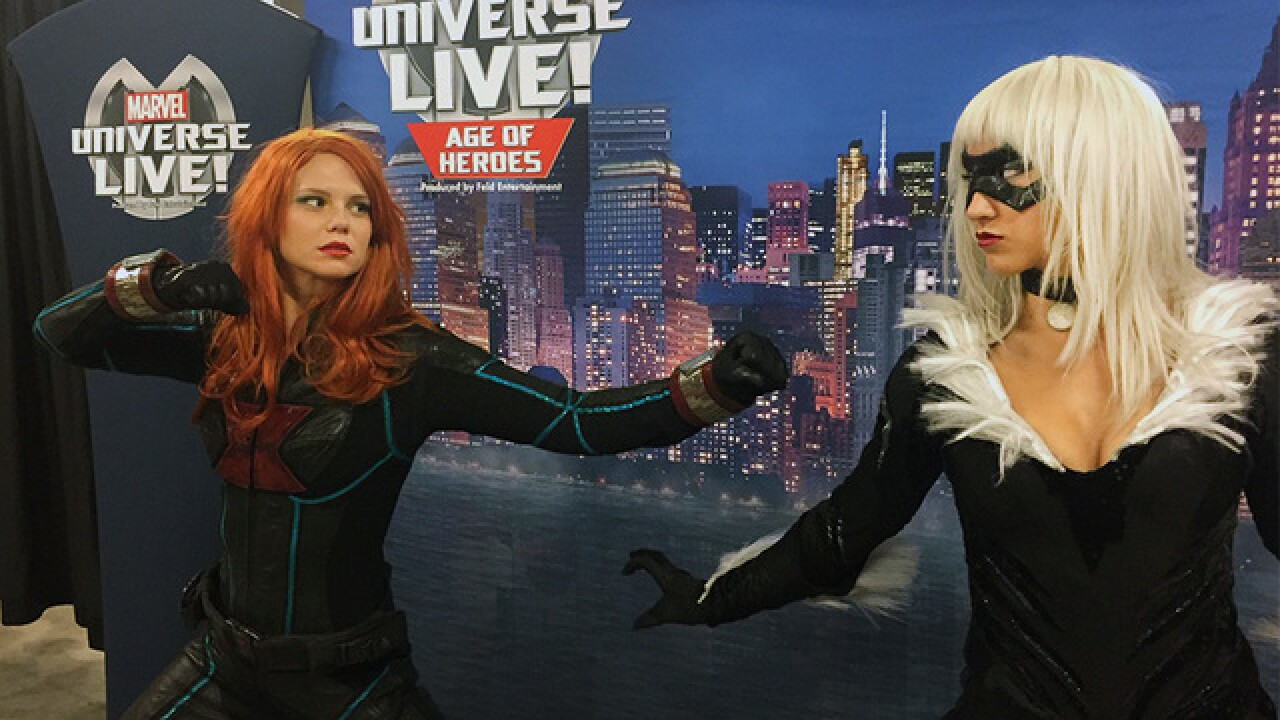 Superheroes perform this weekend in Kansas City