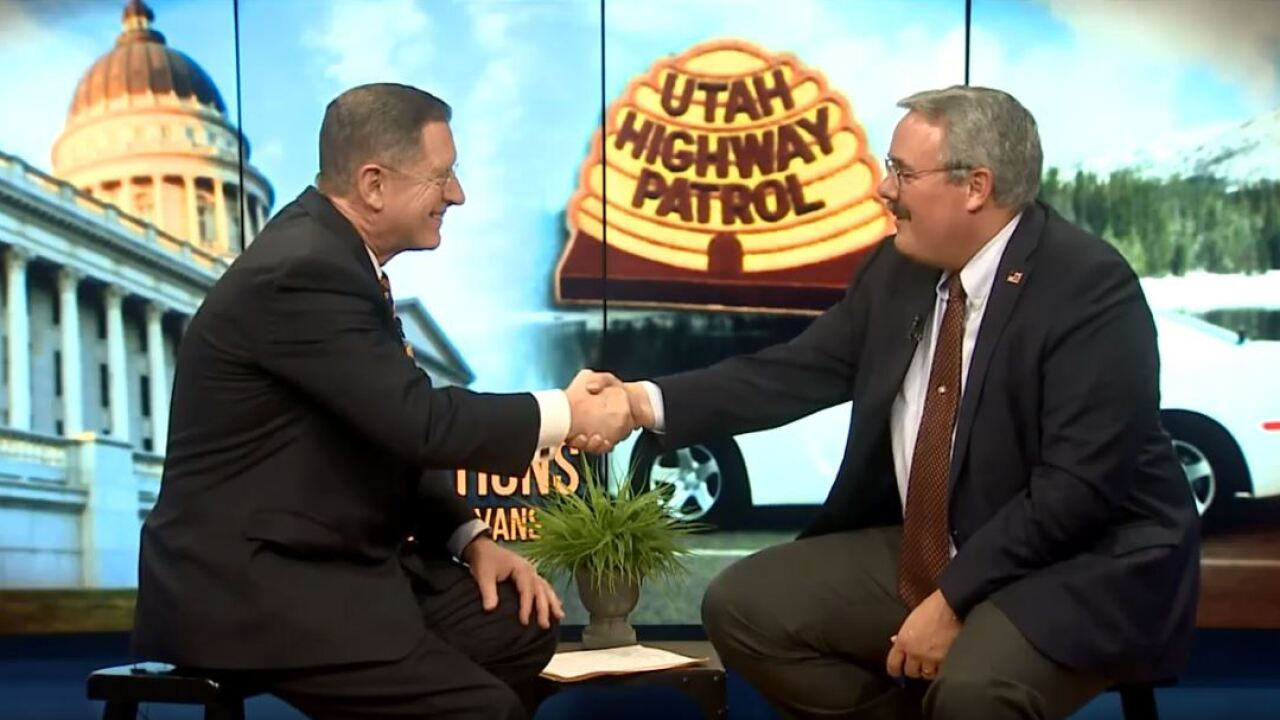 3 Questions with Bob Evans: State Representative and retired UHP Lt. Lee Perry