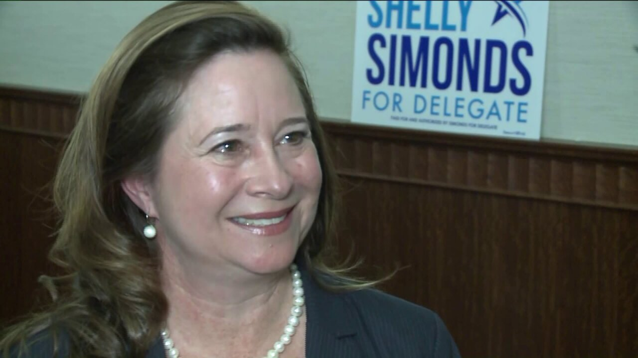 'It didn't have to end with a bowl' Shelly Simonds projected as winner of Virginia's 94th District Houserace