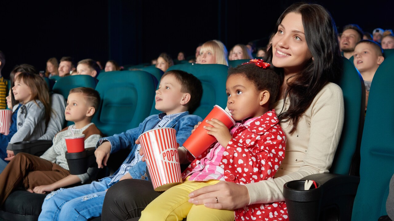 Paragon Theaters in Newport News offering free kids movies every week, all summer!