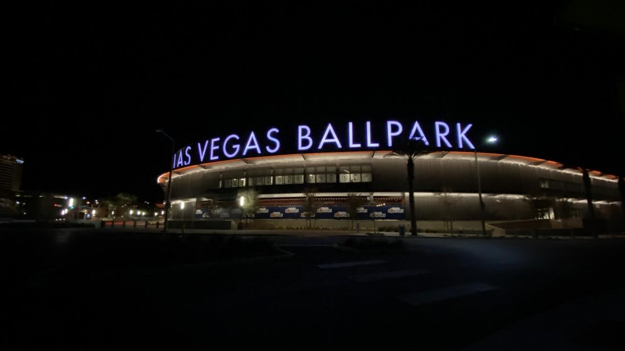 The Las Vegas Aviators play at the Las Vegas Ballpark located near Downtown Summerlin
