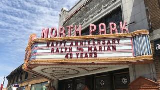 North Park Theatre custom marquee