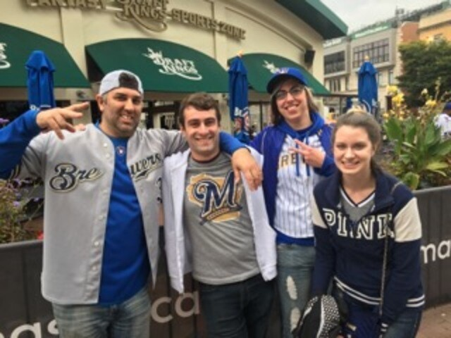 Brewers fans take over Chicago for Game 163 [PHOTOS]