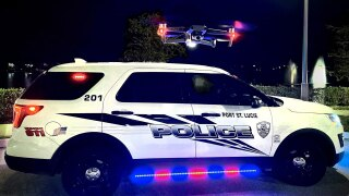 Port St. Lucie Police Department drone