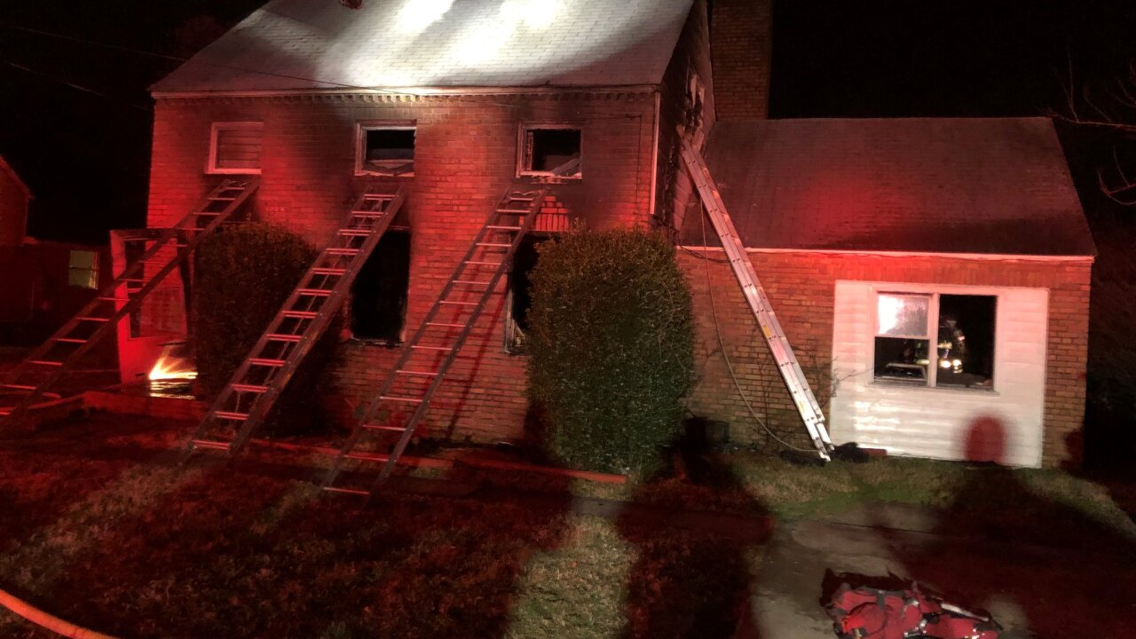 HP 20 block of Langston Boulevard house fire (March 11)