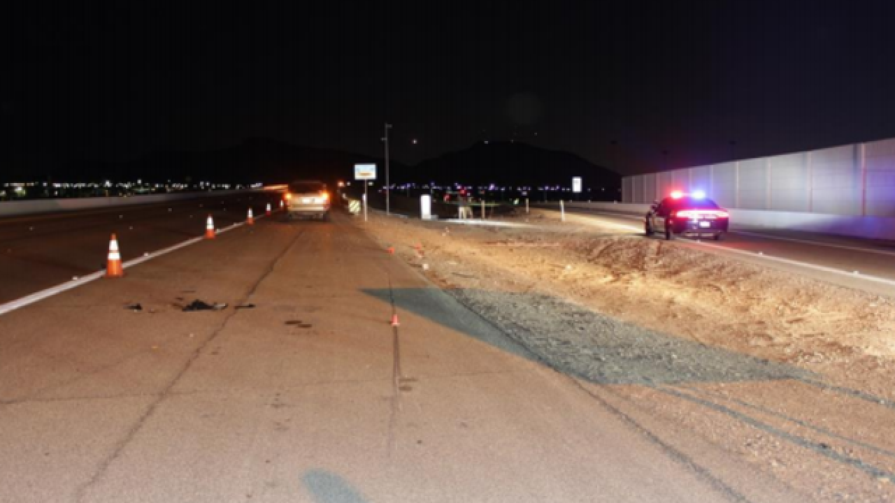 Motorcyclist dies after crash on US 95