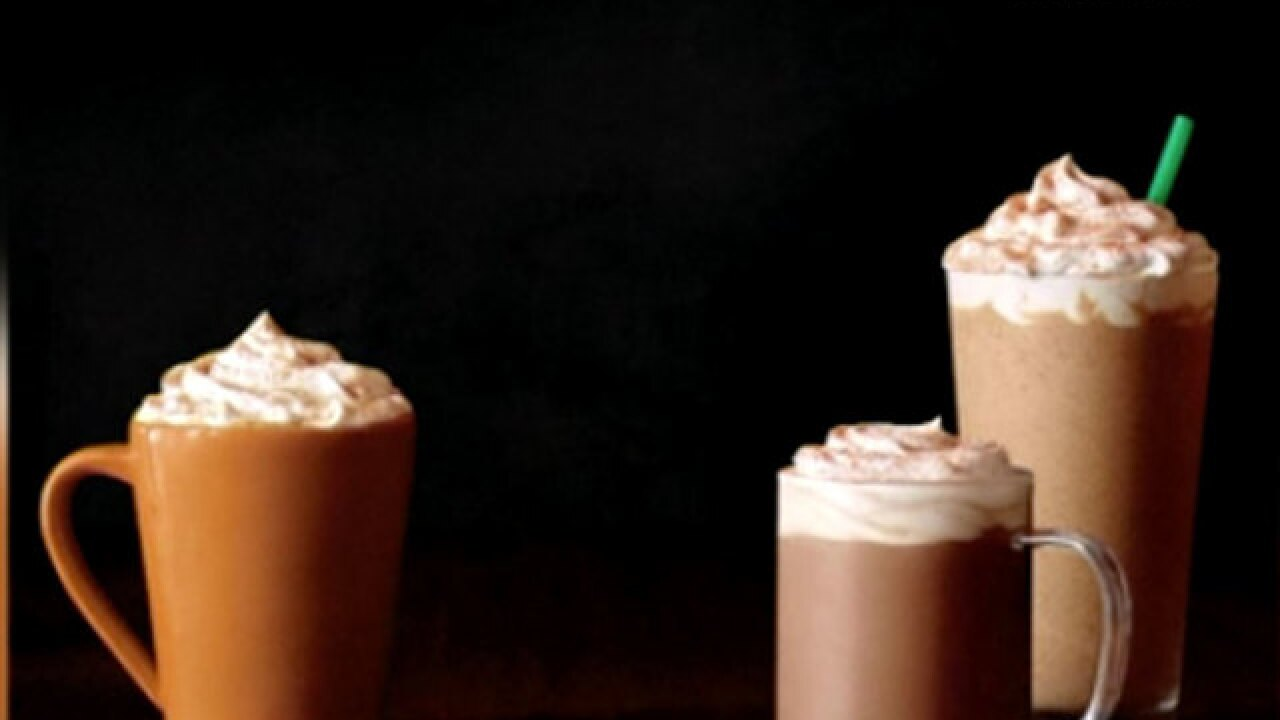 Starbucks' Pumpkin Spice Lattes return Tuesday