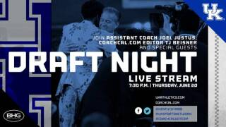 UK Men's Basketball to Stream Live NBA Draft Show on Thursday
