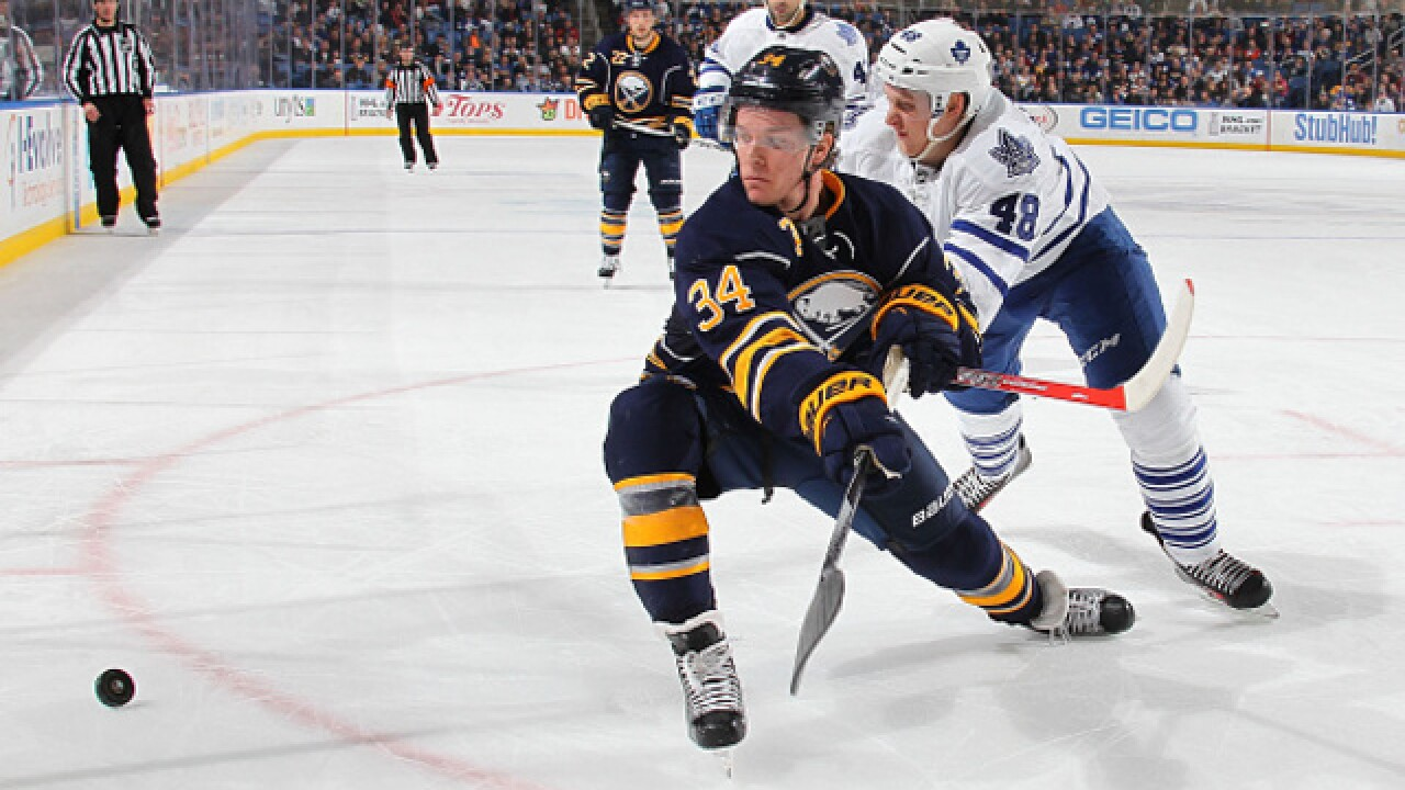 Buffalo Sabres bring back Casey Nelson on two-year deal