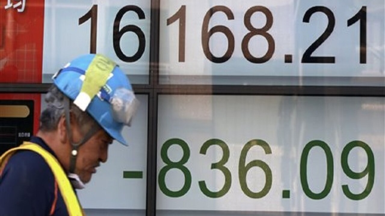 Asia stocks extend global sell-off, Japan down