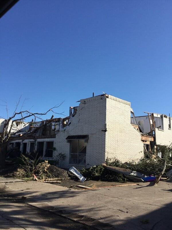 Photos: EF-3 tornado rips through Dallas