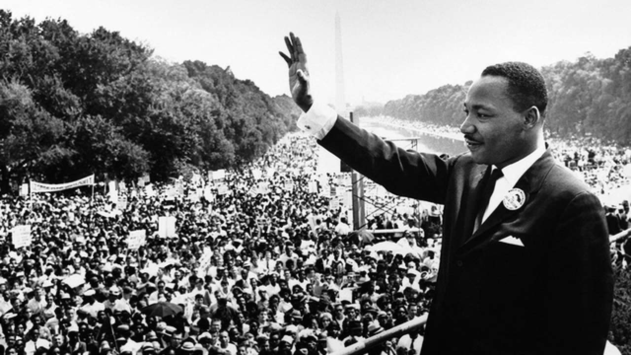 Martin Luther King, Jr. at March on Washington speech