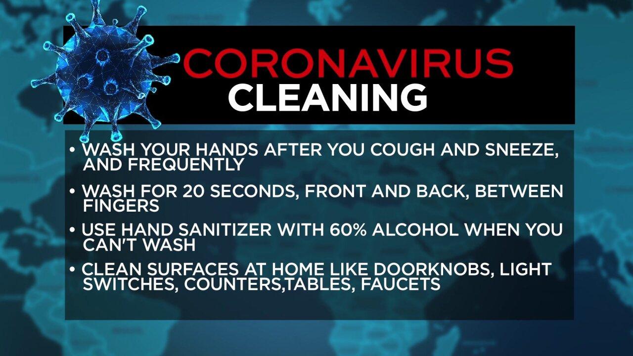 Coronavirus cleaning tips