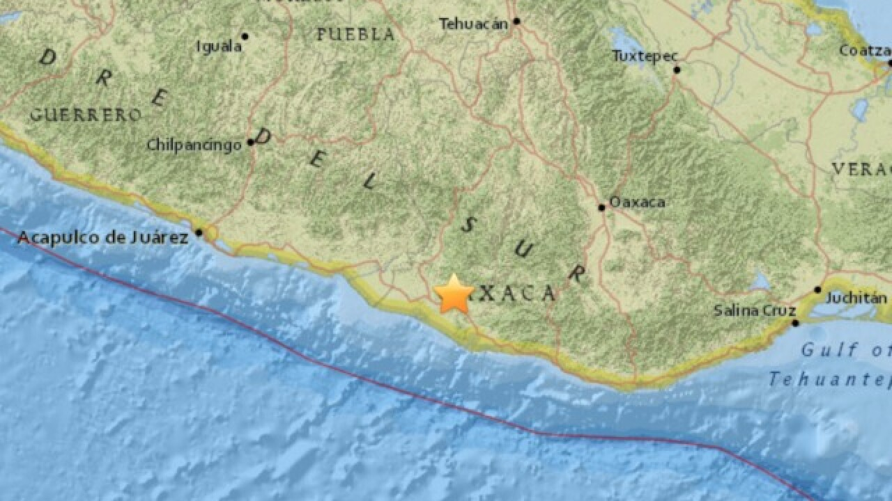 Magnitude 7.2 earthquake shakes southwest Mexico