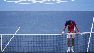 APTOPIX Tokyo Olympics Tennis