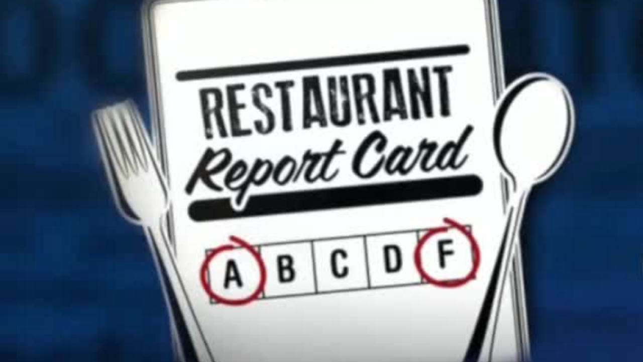 Restaurant Report Card graphic