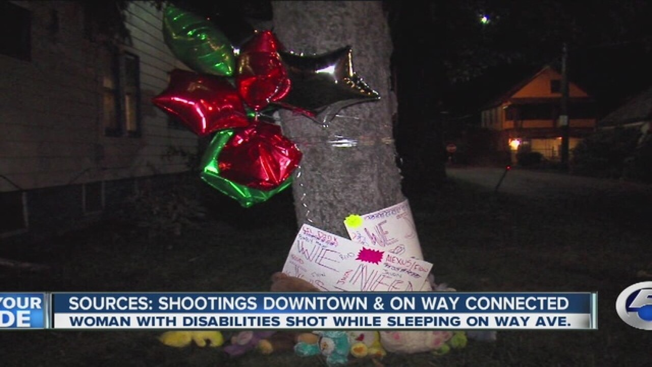 Brother was the target in Way Ave. shooting
