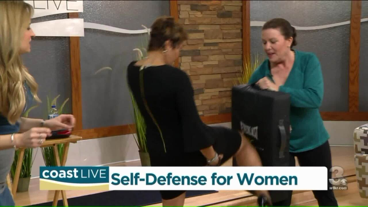 A lesson in self-defense for women on Coast Live