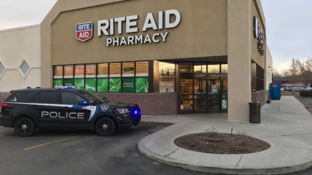 Suspect in custody minutes after Boise armed robbery