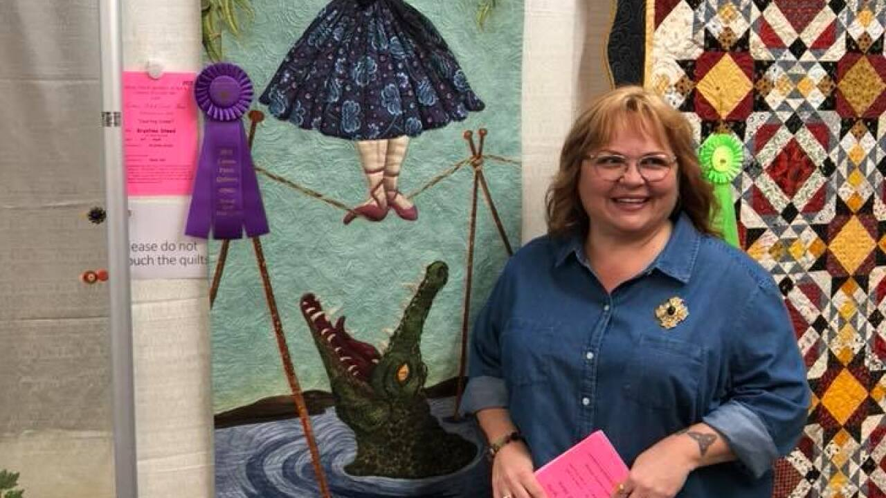 Cotton Patch Quilters of Kern County  Ruby Jubilee Quilt Show