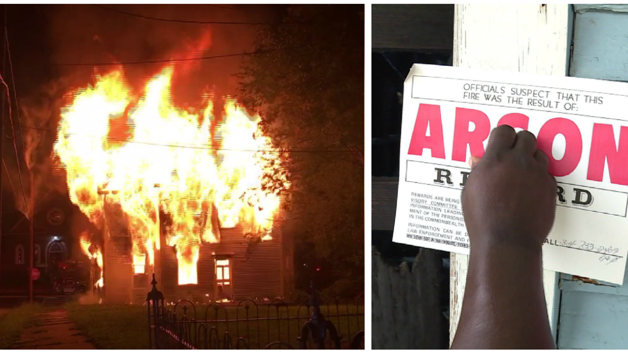 Massive Petersburg house fire ruled arson: 'It looked like a big volcano waserupting'