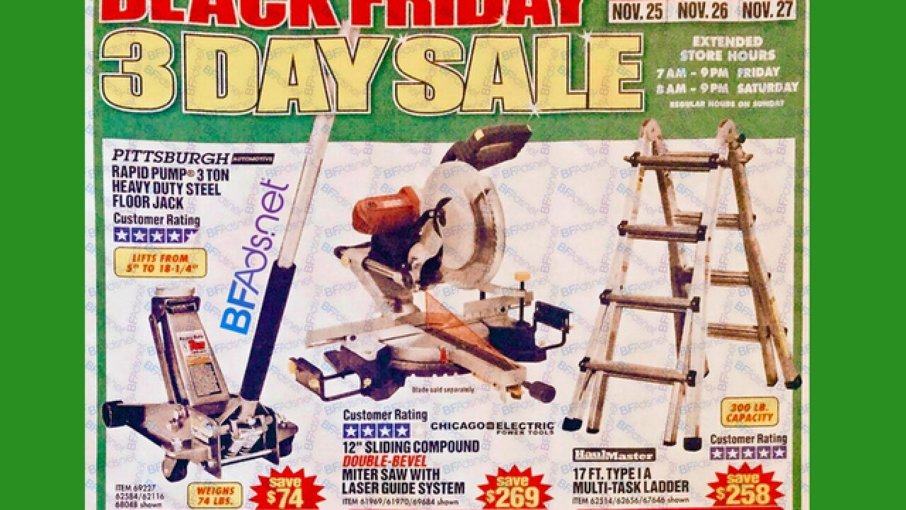 First Black Friday ad of 2016 is leaked