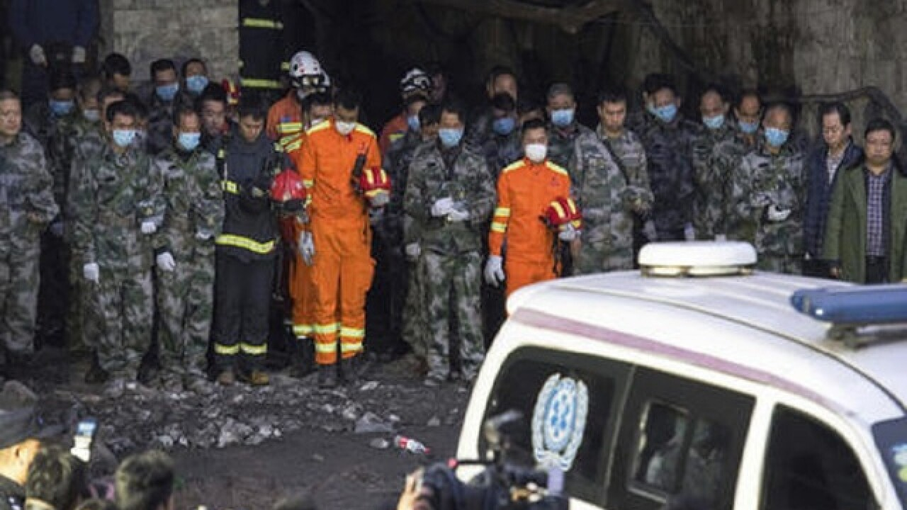 Safety violations found after deadly China coal mine blast