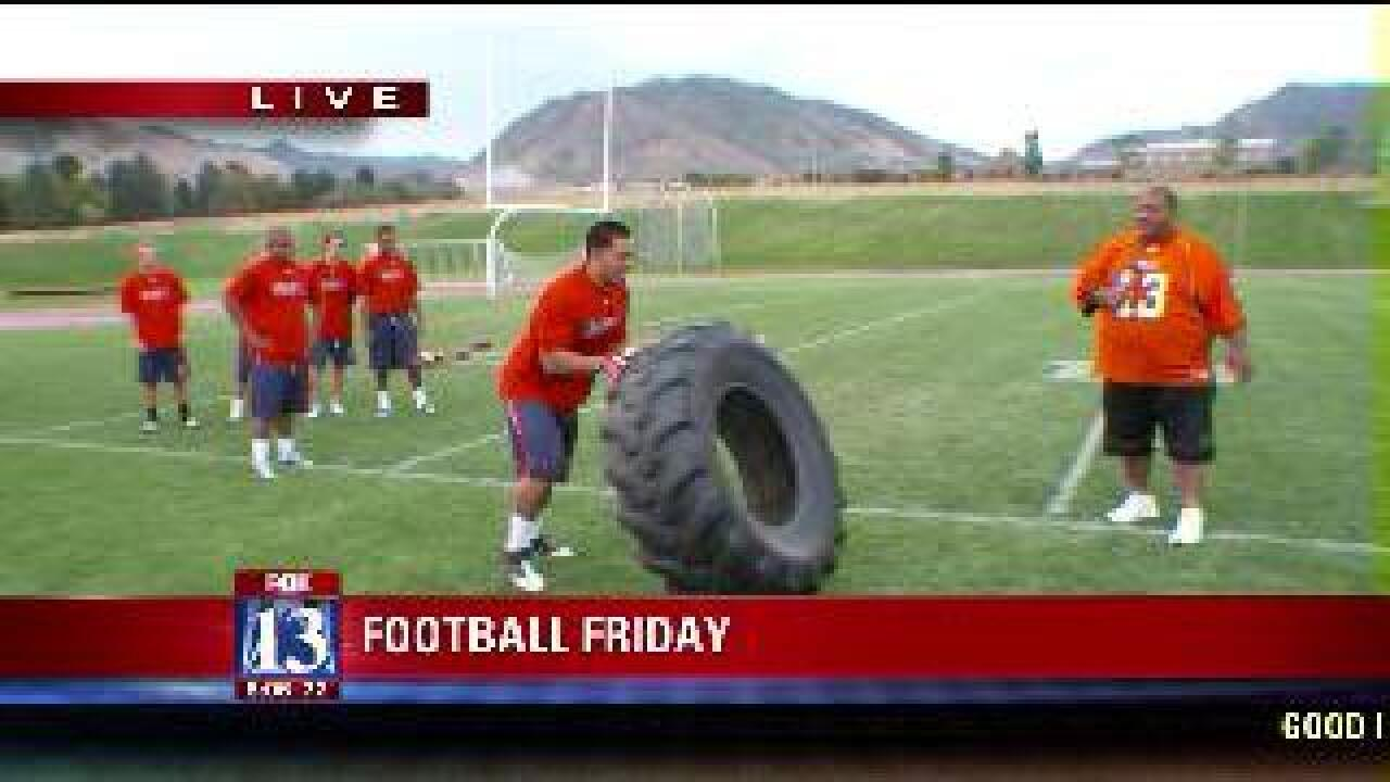 The high school football workout plan