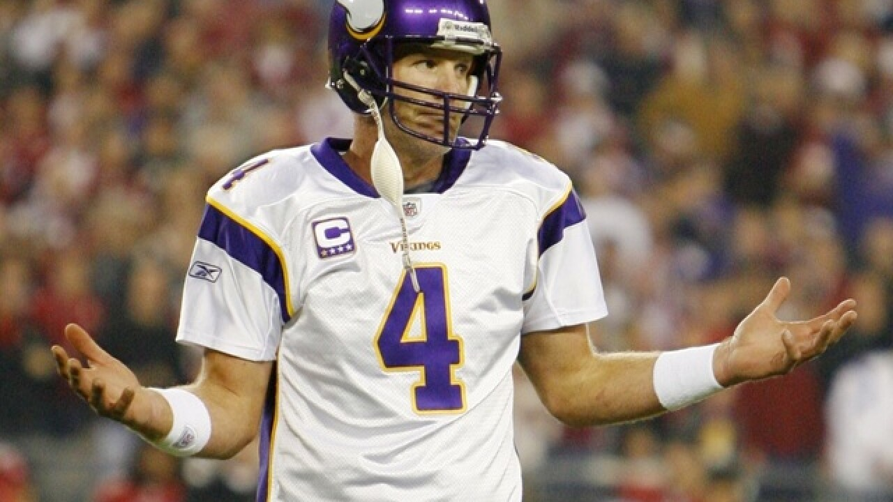 more photos d198d 1ebce Brett Favre on Vikings: