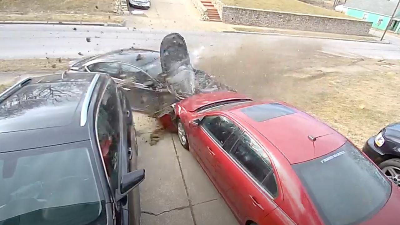 Jan. 20 hit-and-run crash Myrtle Avenue