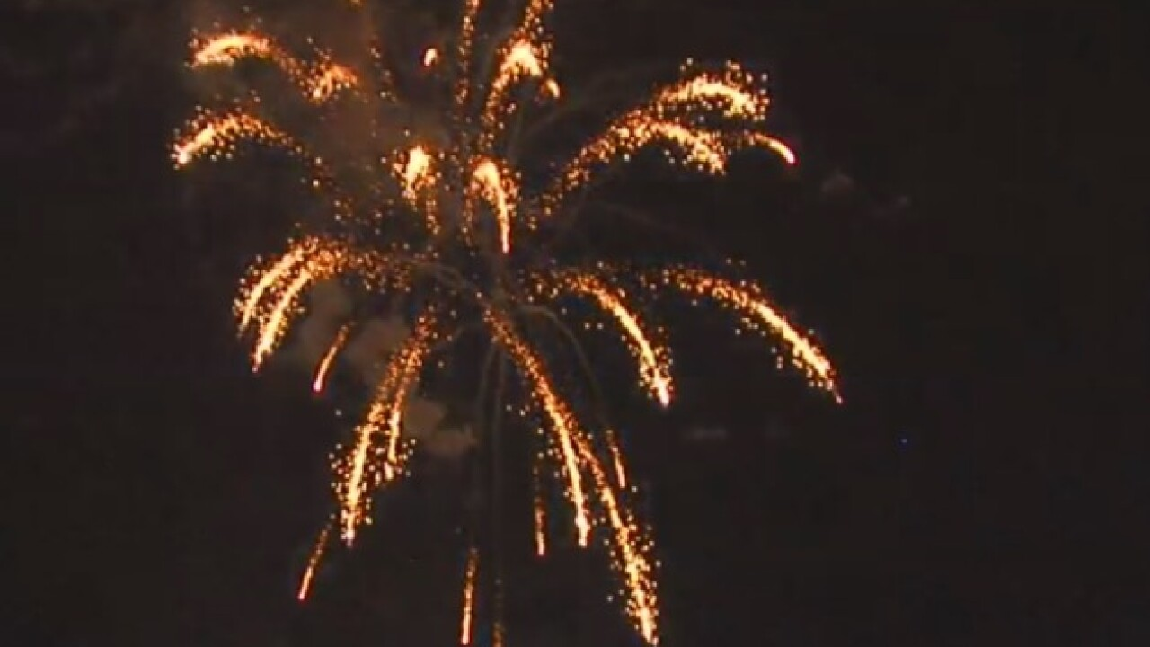 WATCH: Indianapolis' Freedom Fest Fireworks Show